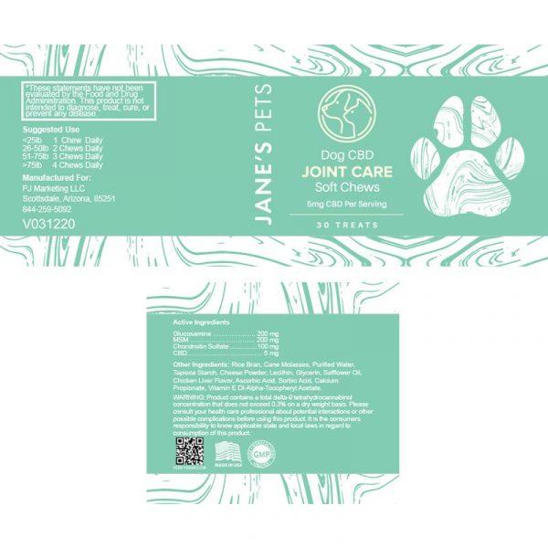 JP soft chews label 1