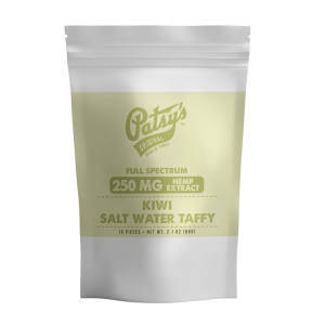 Patsys Hemp Kiwi Salt Water Taffy