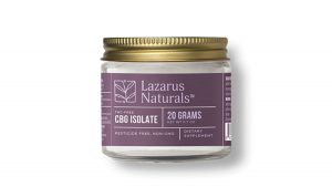 Lazarus Naturals Bulk CBG Isolate 20 Grams 1200x675 cropped