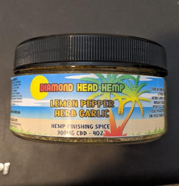 CBD Lemon Pepper Herb Garlic CBD infused