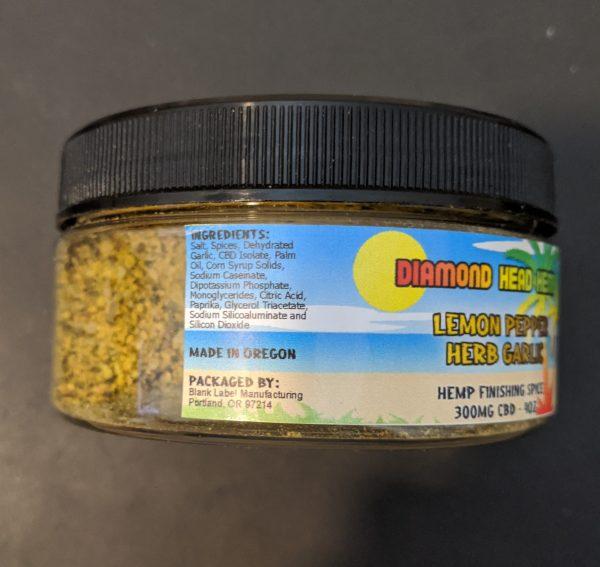 Lemon pepper Herbgarlicingredients