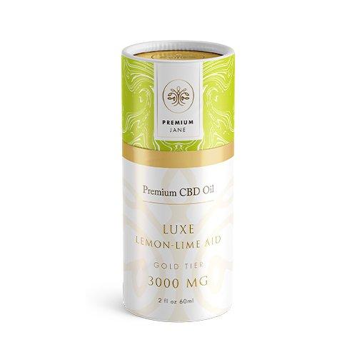Premium Jane CBD Tincture Luxe Lemon-Lime – 3000mg 2 oz / 60mL