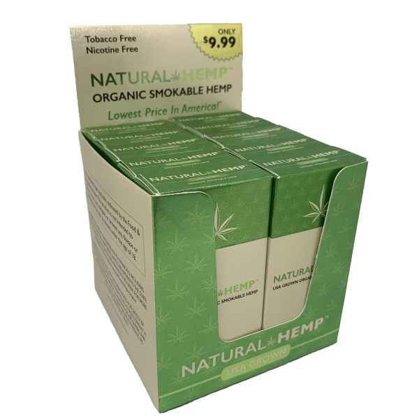 Bloomble Natural Hemp Cigarettes