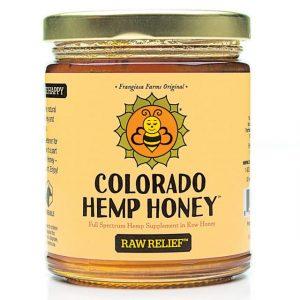 Colorado Hemp Honey RAW RELIEF Double Strength 12 OZ