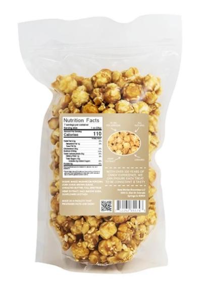 Patsys Hemp Caramel Popcorn
