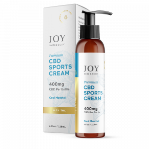 Joy Organics CBD Sports Cream