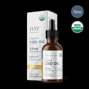 Joy Organics CBD Oil Tinctures Unflavored