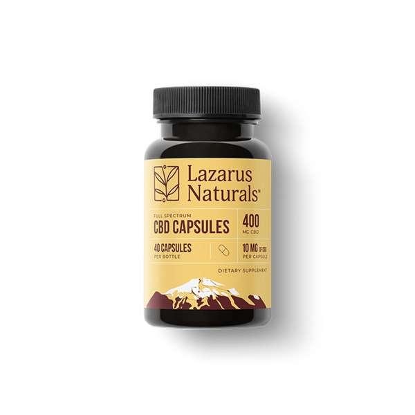 Lazarus Naturals CBD Softgels 50mg