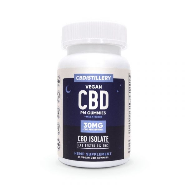CBD Nighttime Gummies – 30mg – 25 Count – New & Improved!