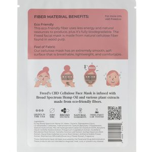 Freed CBD Facial Mask (Cellulose) 3 Pack