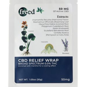 Freed CBD Relief Wraps 3 Pack