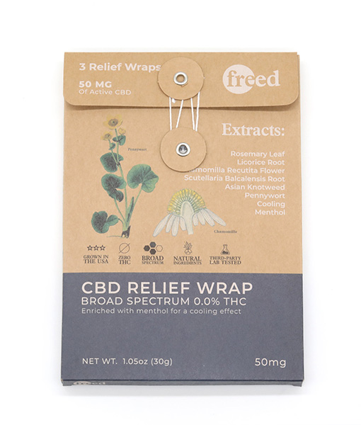 freed cbd relief wraps 3 pack 01