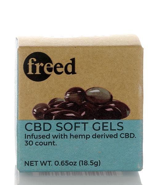 freed cbd softgel capsules 750mg 30 count box 011