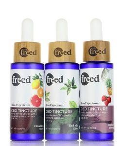 freed cbd tinctures 30ml 1