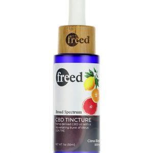 Freed CBD Tinctures Citrus Flavor 30ml