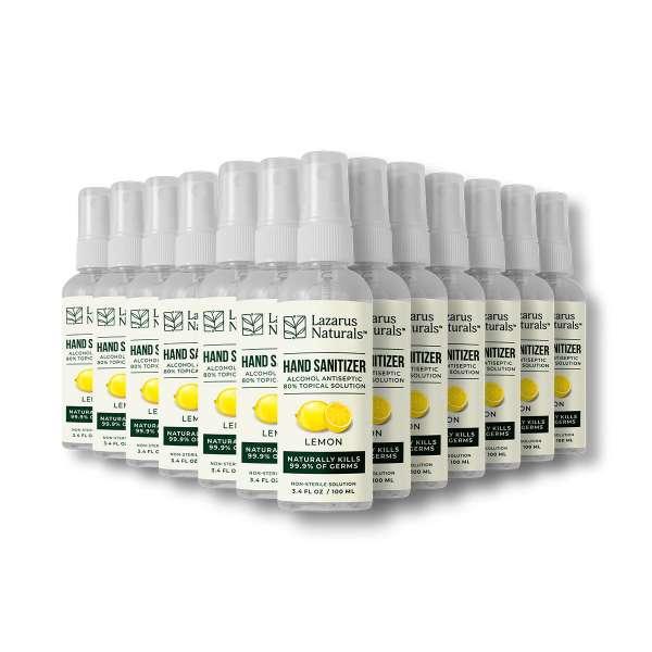 Lemon Liquid Hand Sanitizer (Case of 24)