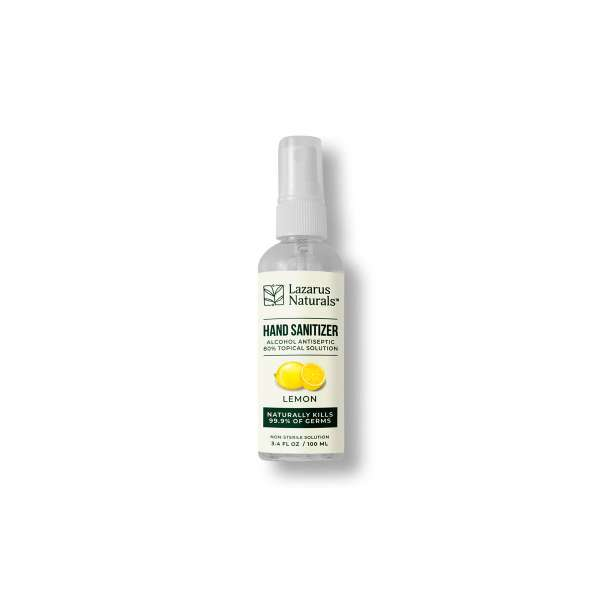Lazarus Lemon Hand Sanitizer 1 Bottle 3.4 Oz