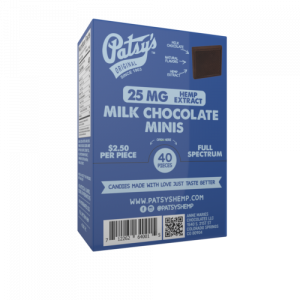 Patsys Hemp Milk Chocolate Minis