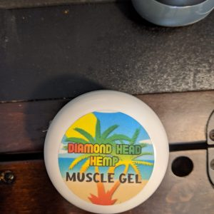 CBD Muscle Gel 1500 MG by Diamond Head