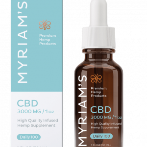 Myriams Premium Hemp DAILY 100 CBD