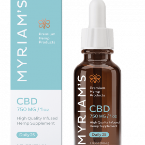 Myriams Premium Hemp DAILY 25 CBD