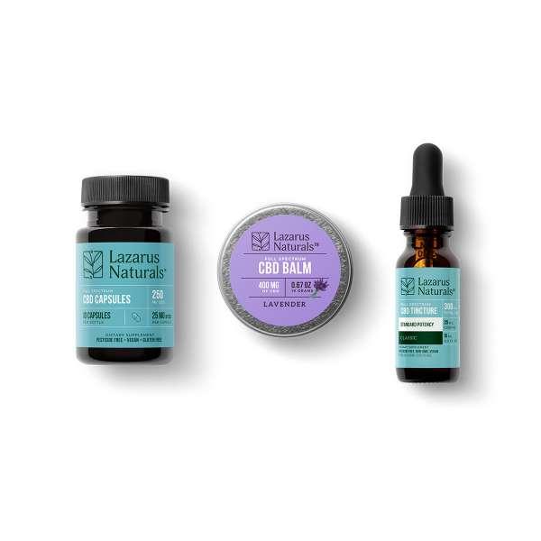 Lazarus Assorted Standard Potency CBD Sample Pack