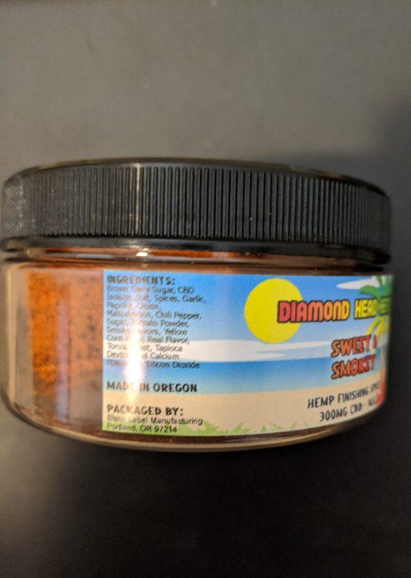 CBD Sweet and Smokey Seasoning infused with CBD