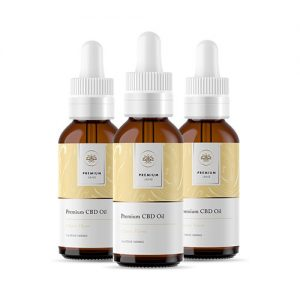 Premium Jane Citrus CBD Tincture 3 Pack