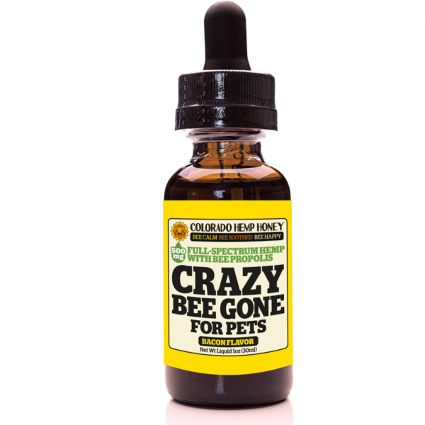 A HOLISTIC SOLUTIONS FOR PETS: Colorado Hemp Honey PET CRAZY BEE GONE! We have combined three powerful ingredients to help soothe, comfort and relax for your anxious pets.