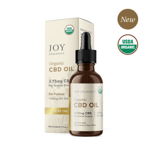 Joy Organics Premium CBD Pet Tincture for Dogs and Cats
