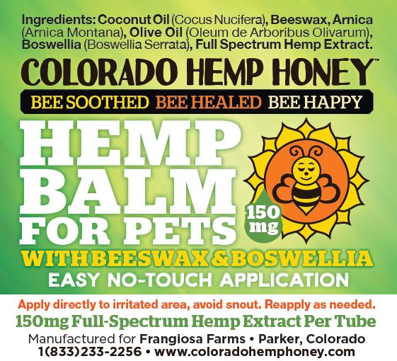 Colorado Hemp Honey PET BALM BOSWELLIA