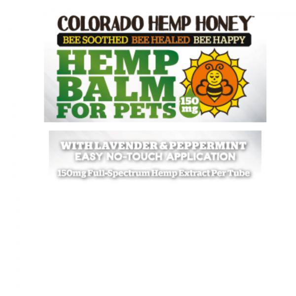 Colorado Hemp Honey PET BALM LAVENDER