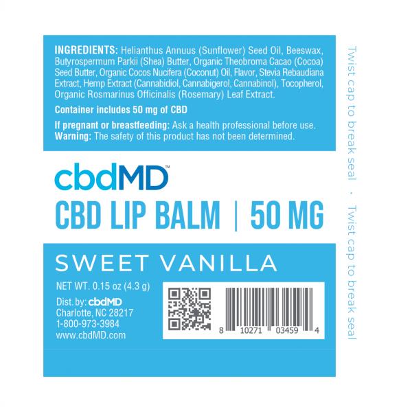 CBDMD LIP Balm CBD Lip Balm 12 Pack