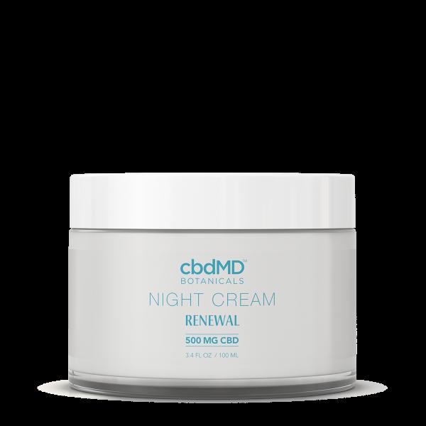 CBD Night Cream 3.4 OZ JAR - 500 MG