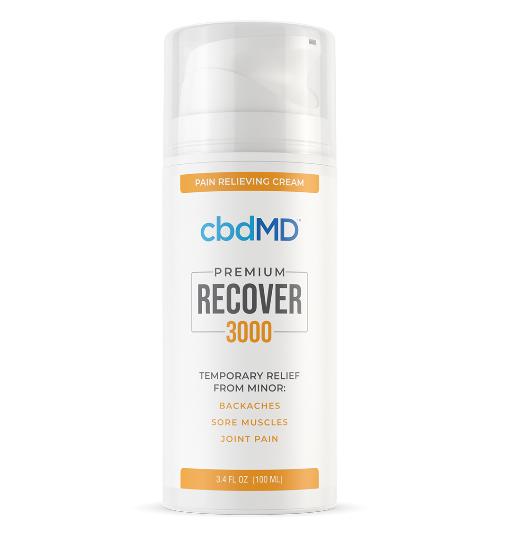 CBDMD Recover Pain Relief Pump