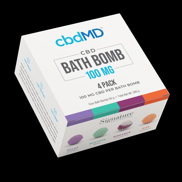 CBD Bath Bomb 4 PACK