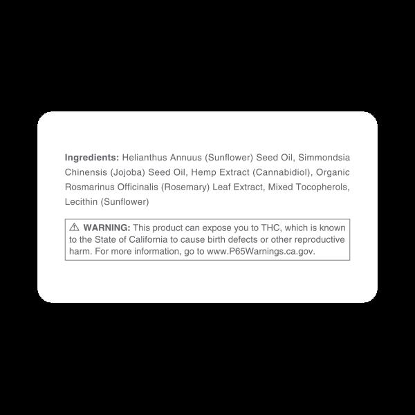 massage ingredients