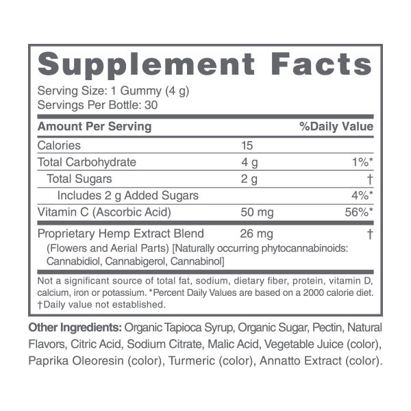 CBDMD Vitamin C Gummies