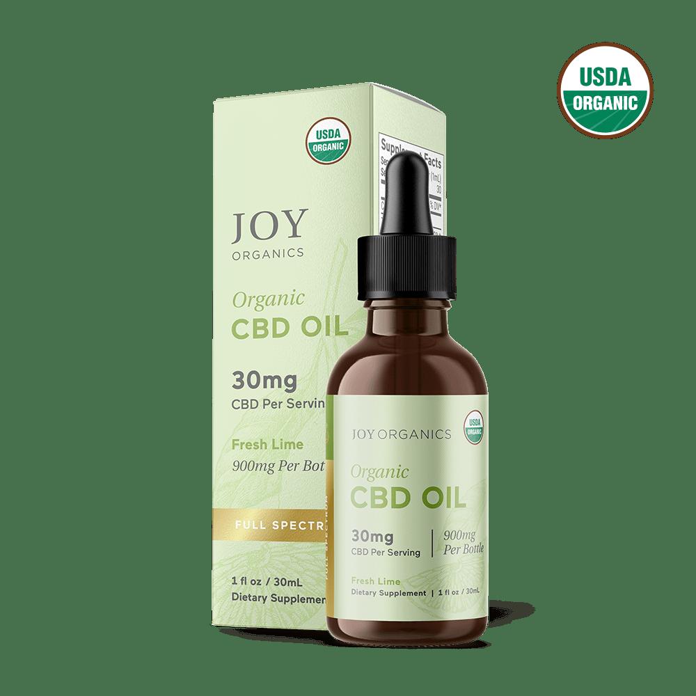 Joy Organics CBD Oil Tinctures Full Spectrum
