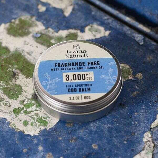 balm fragrance free 2oz blue metal 1 1