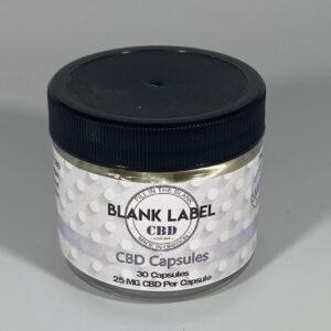 CBD CAPSULES 30 PACK 25 MG