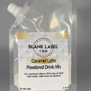 CBD DRINK MIX CARAMEL LATTE 25MG