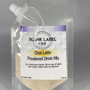 CBD DRINK MIX CHAI LATTE 25MG