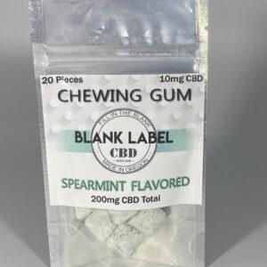 CBD Chewing Gum Spearmint Flavor