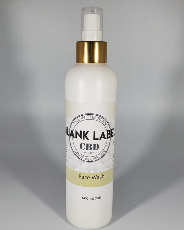 500mg CBD Facial Wash