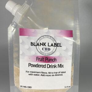 CBD DRINK MIX FRUIT PUNCH 25MG