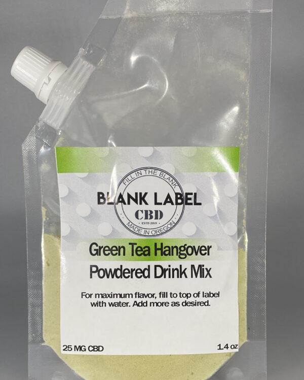CBD DRINK MIX GREEN TEA HANGOVER 25MG
