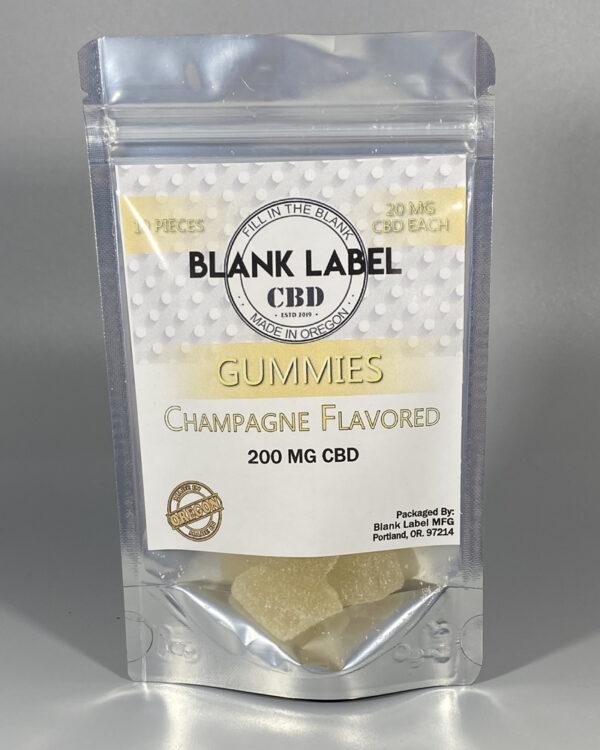 CBD Gummies Champagne Flavor