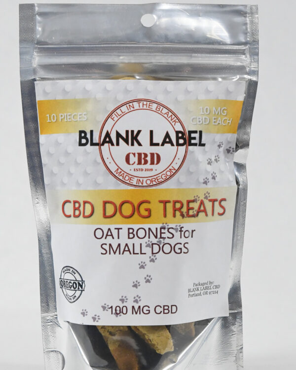 OAT SMALL DOG TREAT (ISOLATE) CHOOSE SIZE