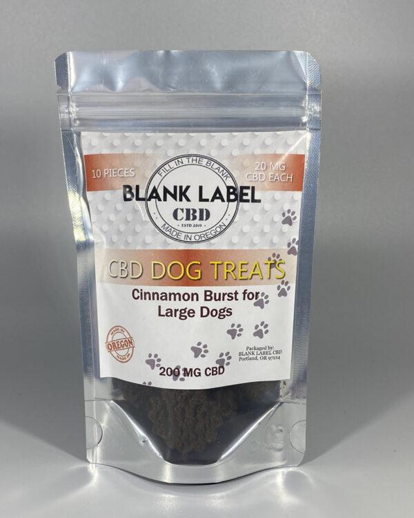 CINNAMON BURST LARGE DOG TREAT (ISOLATE) CHOOSE SIZE